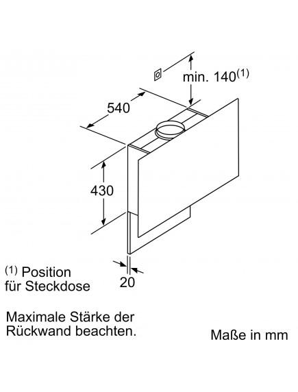 Вытяжка Siemens LC 97FLP60