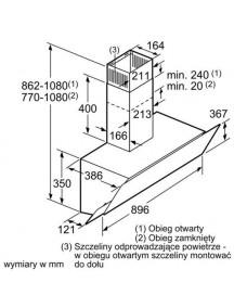 Вытяжка Bosch DWK095G20